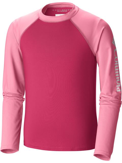 Columbia Mini Breaker Bluzka z długim rękawem Dzieci różowy